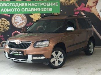 Skoda Yeti 1.4 л (122 л. с.)
