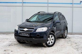 Chevrolet Captiva 2.4 л (136 л. с.)