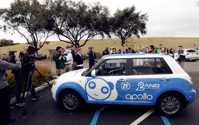Lifan и Baidu представили второе поколение беспилотных электромобилей