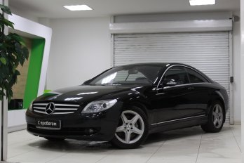 Mercedes-Benz CL 5.5 л (388 л. с.)